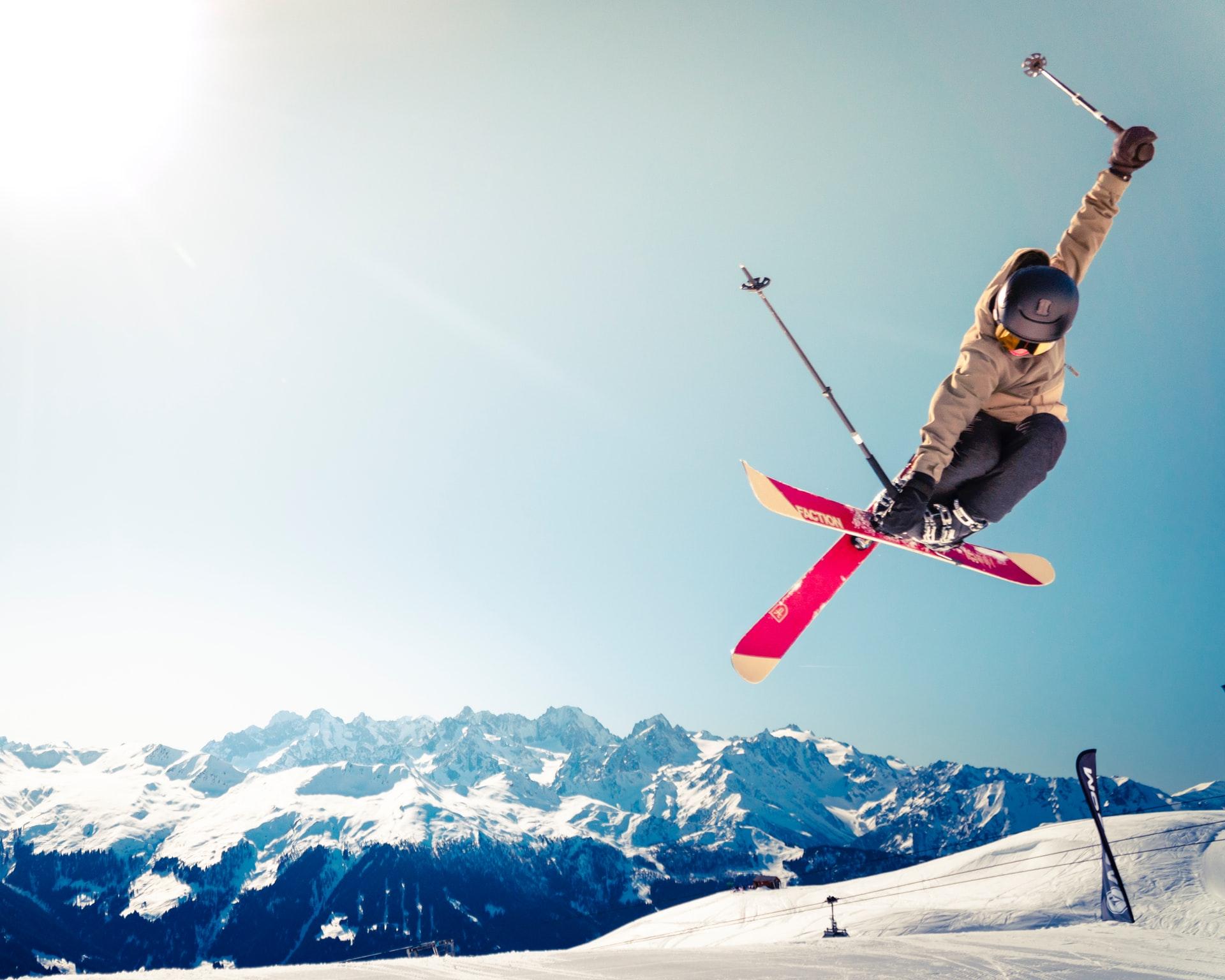 Ski à Méribel
