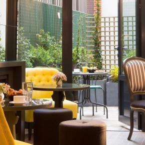 Collection Bagatel - Les Plumes Hotel - Patio 2