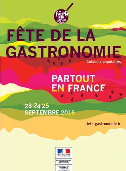 A not to be missed event for gourmands - the Fête de la Gastronomie