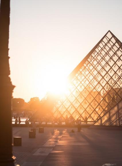 Celebrating thirty years of the Louvre Pyramid