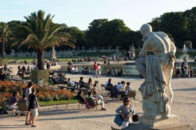 Jardin du Luxembourg Paris , une oasis parisienne