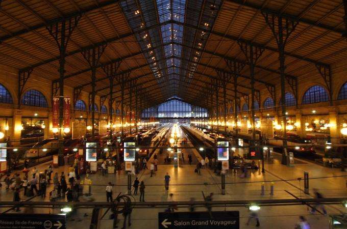 La Gare du Nord devient une discothèque