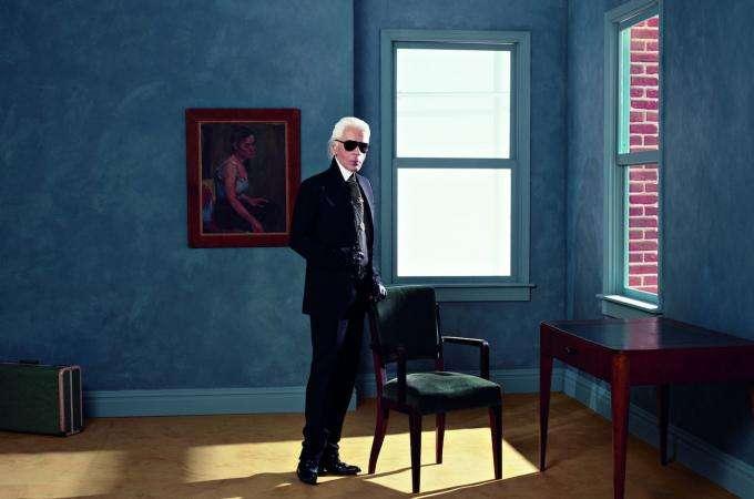 Karl Lagerfeld à la Pinacothèque