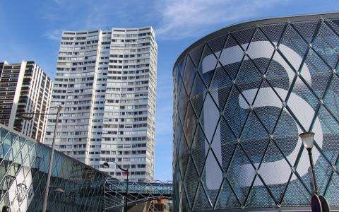 The Beaugrenelle shopping centre; top shopping in Paris