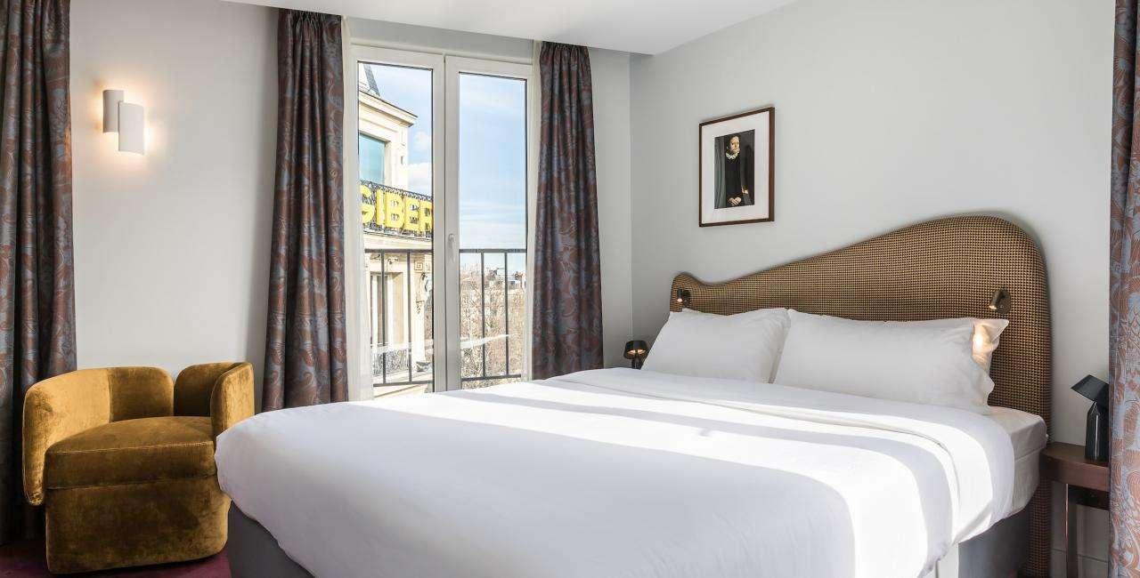 Rénovation d'un hôtel 4 étoiles à Paris