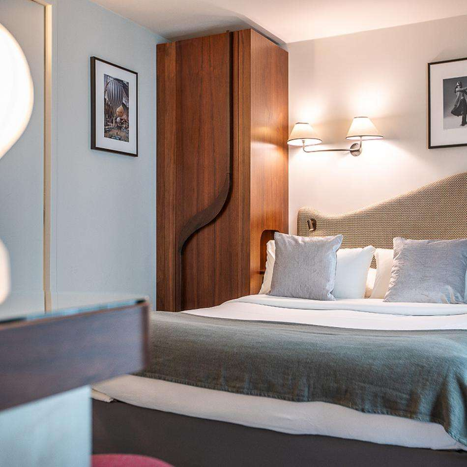 Hotel Belloy - Chambre