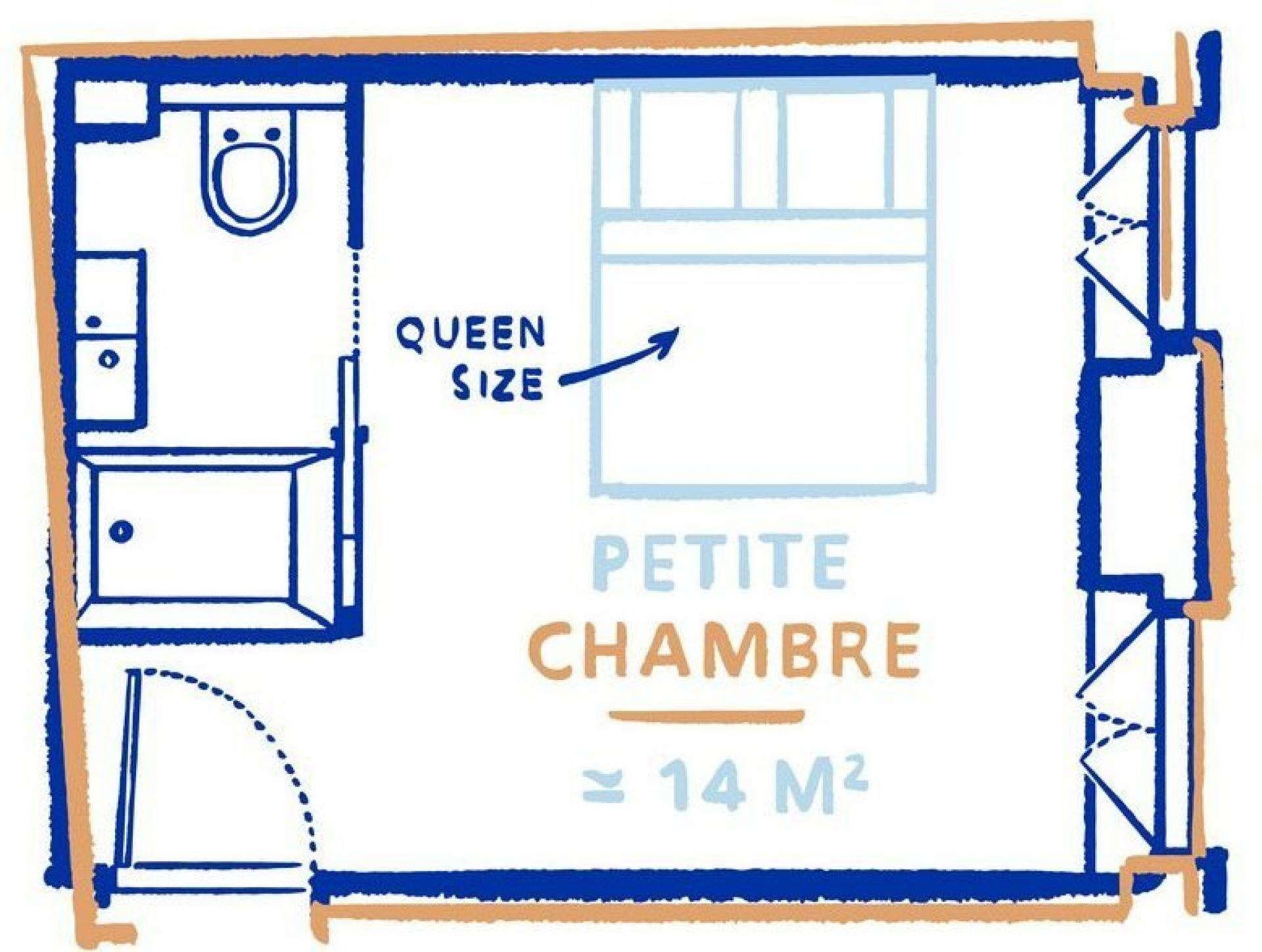Hotel La Nouvelle République - Chambre Bien