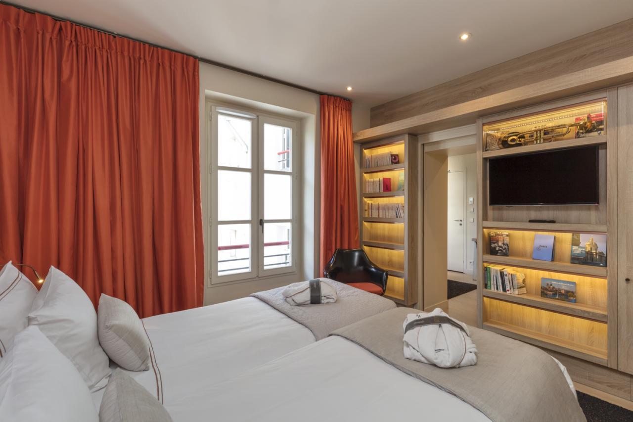 Hôtel de Lille - Chambre