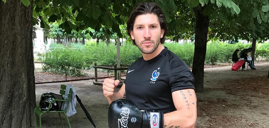 Dan, le coach des Tuileries: atout corps, atout sport
