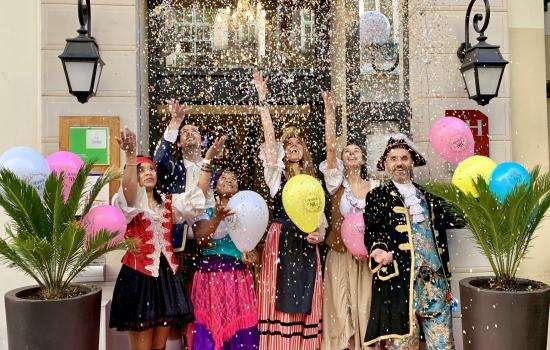 Vivez à 100% le Carnaval de Nice 2020 à l'Hôtel Florence