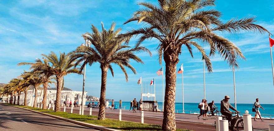 Partir en vacances à Nice au printemps