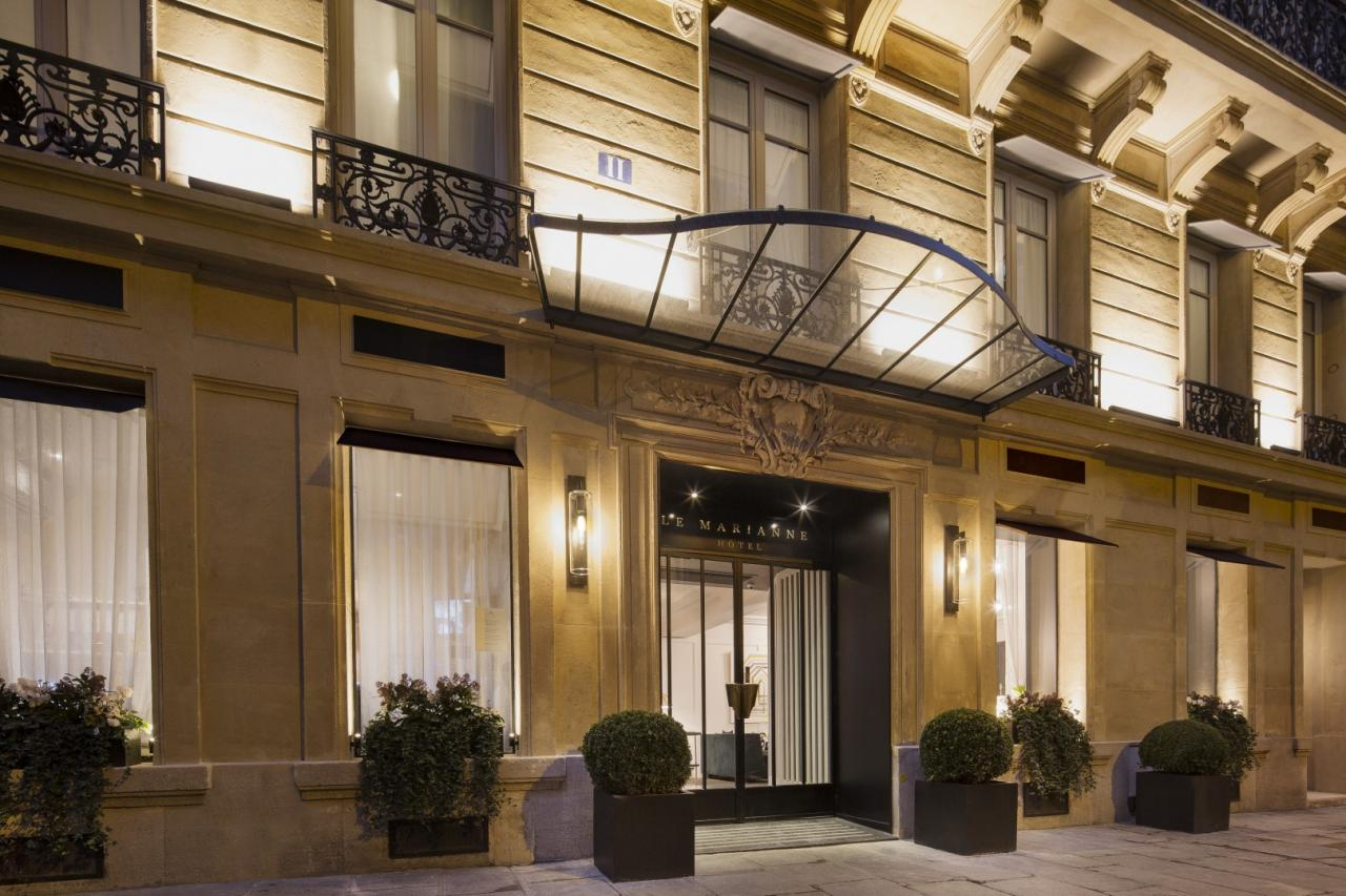 Hôtel Le Marianne - Entrée