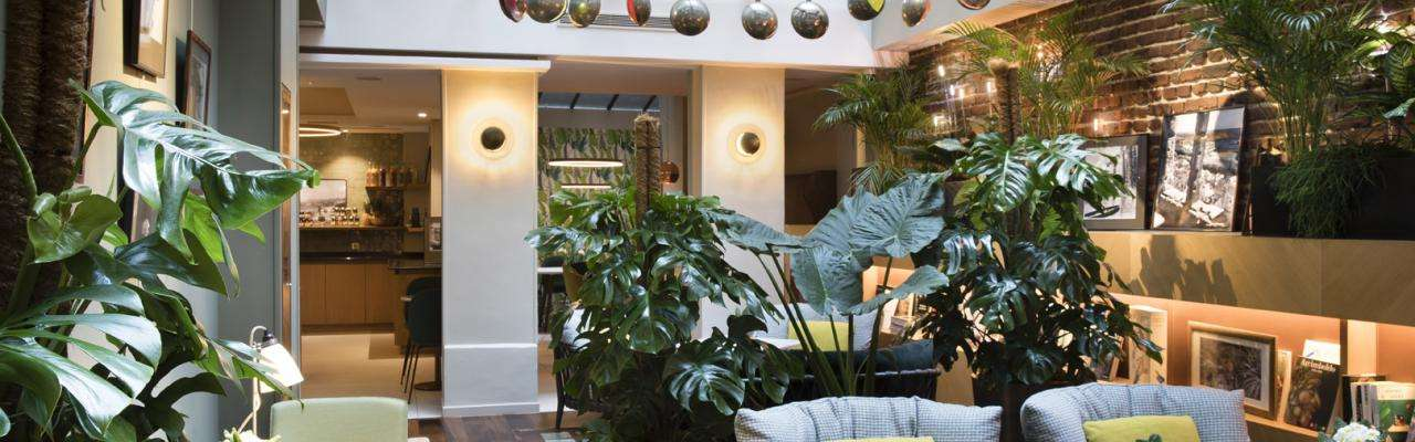 Le Six Hôtel - Winter garden