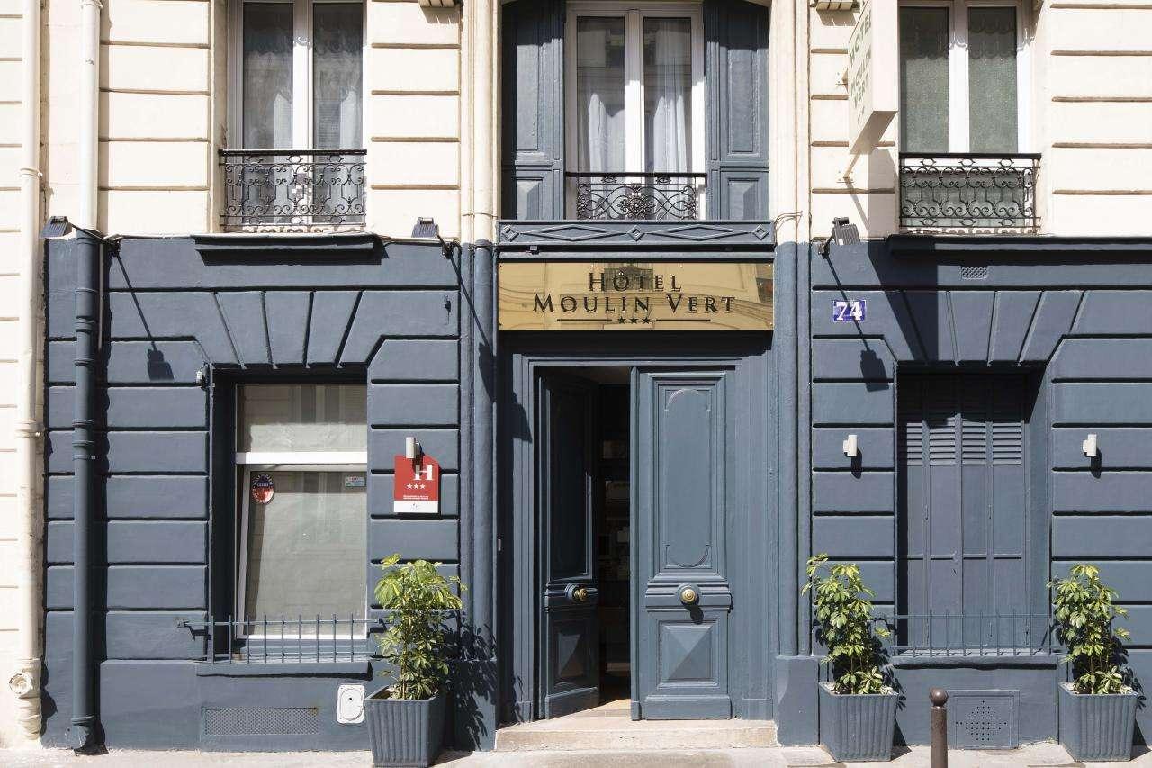 Hôtel Moulin Vert - Entrée