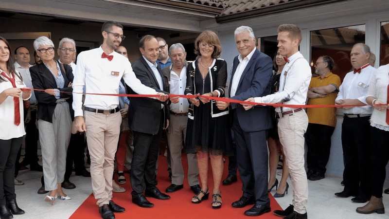 Inauguration of Carré Pau Airport Hôtel