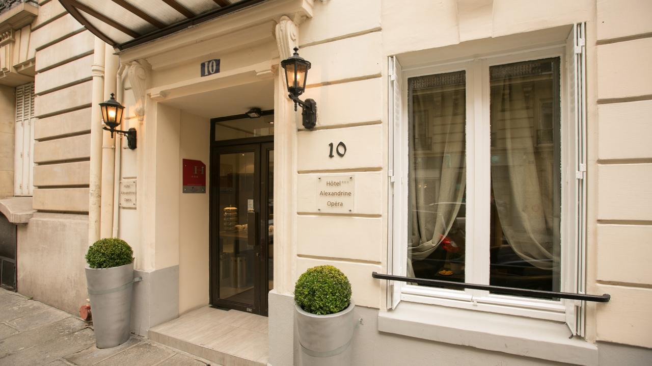 Hôtel Alexandrine Opéra Paris - Accueil