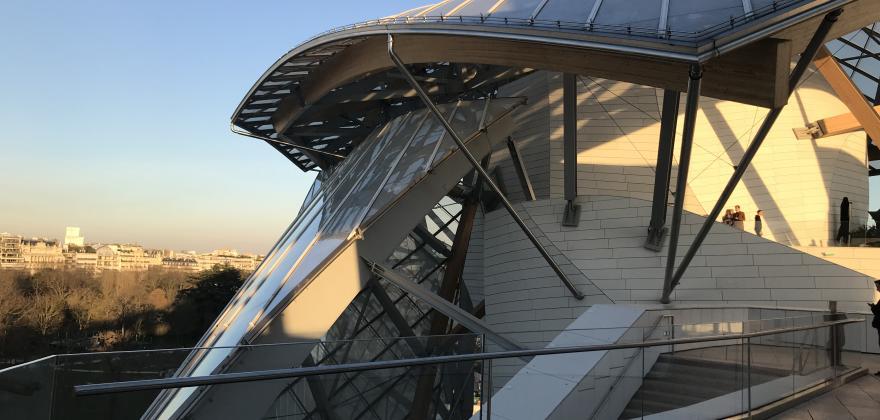 Découverte de l'architecture de la Fondation Louis Vuitton