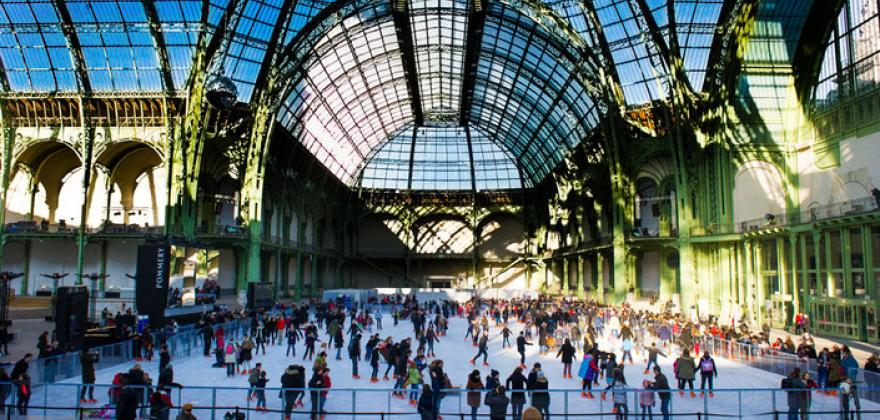 LE GRAND PALAIS DES GLACES: THE GIANT RINK