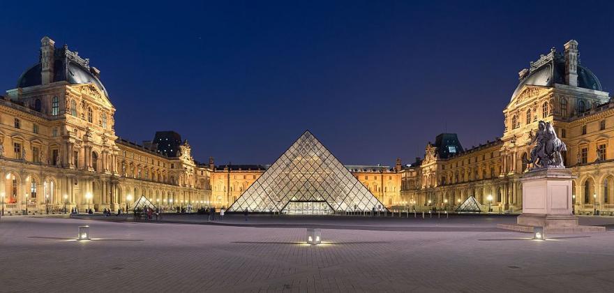 La musée du Louvre la nocturne du samedi gratuite