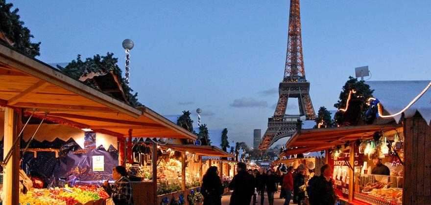 Le Marché de Noël s'installe au jardin des Tuileries