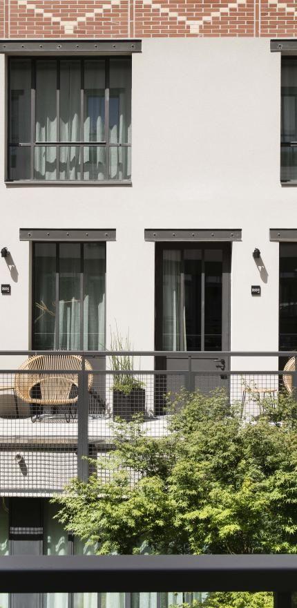 Hôtel Les Deux Girafes - Façade