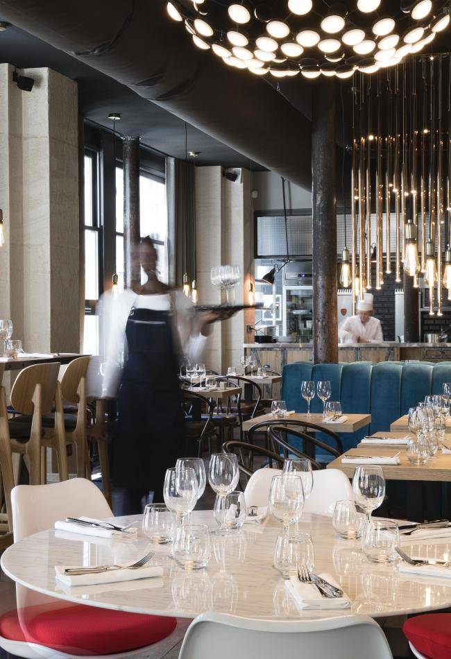 Hôtel Les Deux Girafes - Restaurant