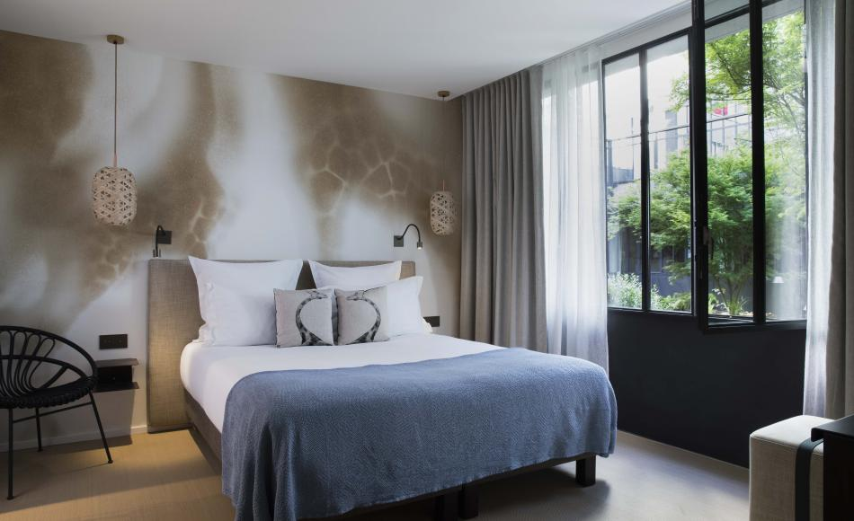 Hôtel Les Deux Girafes - Chambre