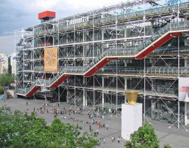 The Centre Georges Pompidou