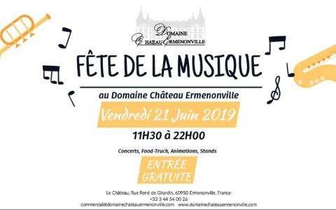 Notre Fête de la Musique au Château d'Ermenonville