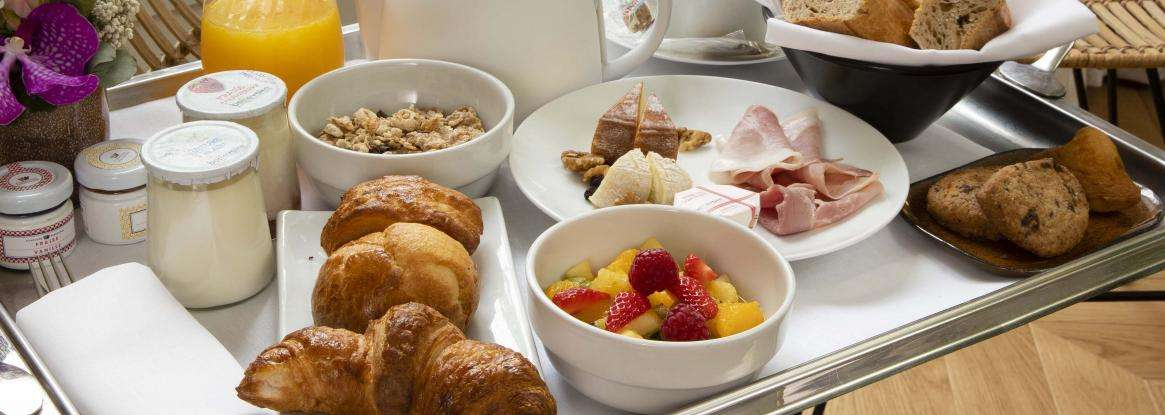 Take advantage of our room service