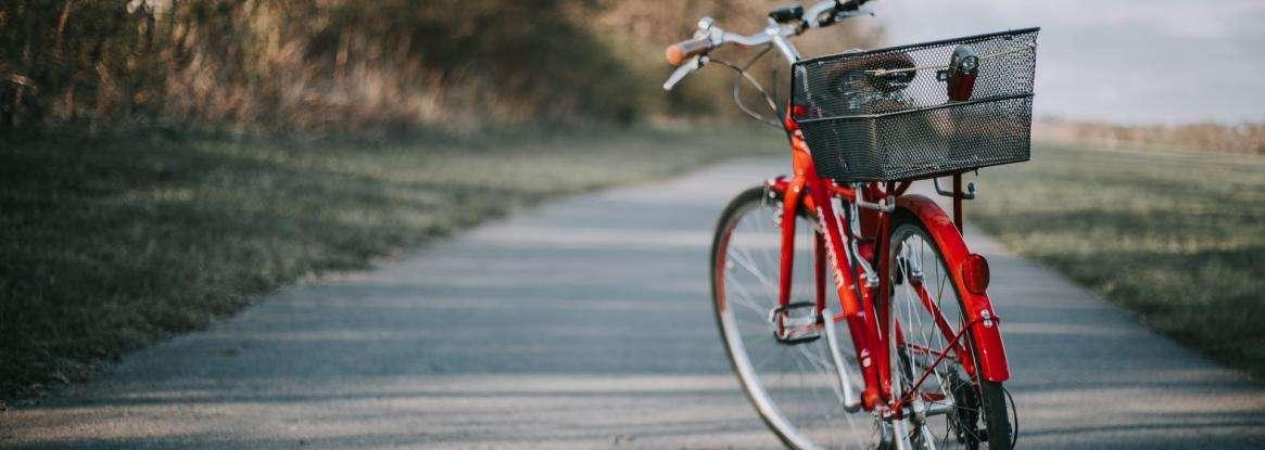 The Sarthe by bike