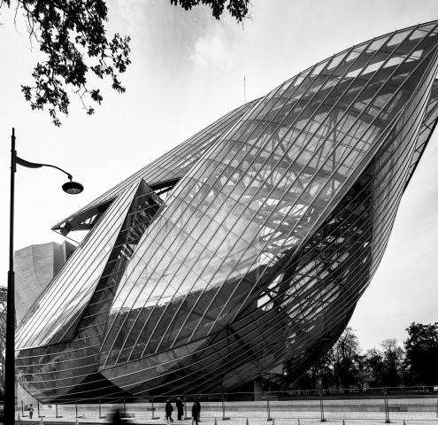 A new place for culture in Paris : the Louis Vuitton foundation