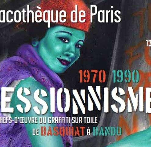 Graffitis invade the Pinacothèque