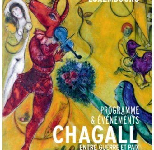 Chagall between war and peace , an uplifting exhibition