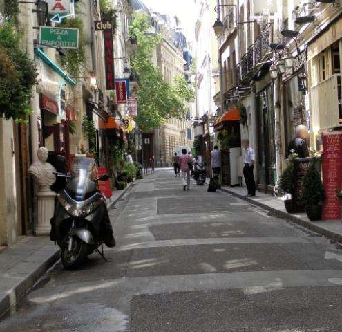Saint-Germain des Pres, a privileged neighborhood