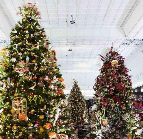 Shopping de Noël : Bon Marché Rive Gauche - Hotel du Danube