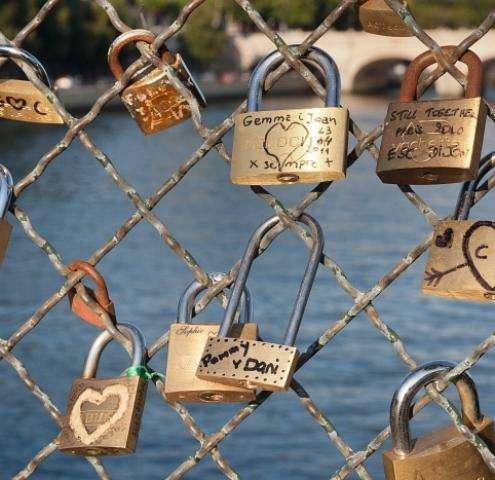 Saint-Valentin Paris , fêter l'Amour dans la ville de l'Amour