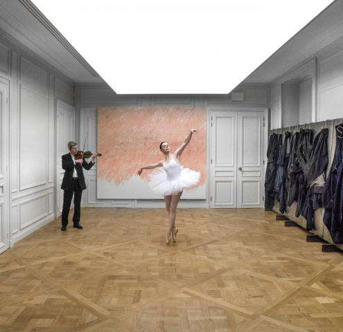 Brut(e) : an exhibition by Jannis Kounellis at the Monnaie de Paris