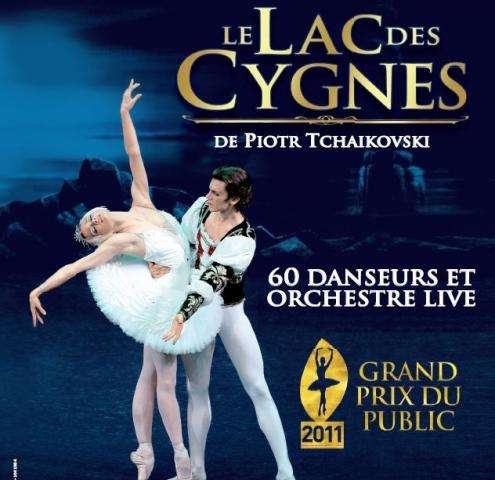 Swan Lake Ballet in Paris : a new vision