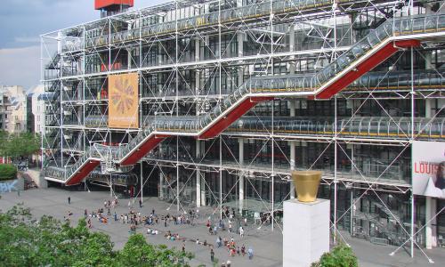 The Centre Georges Pompidou