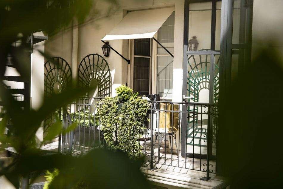 Hôtel Arioso - Balcon chambre supérieure