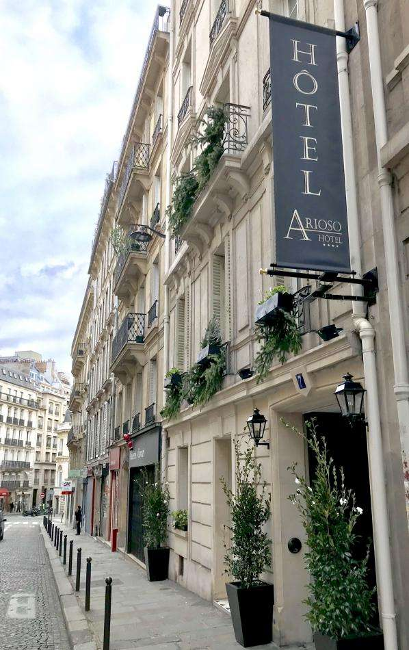 Hôtel Arioso - Façade