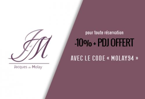Hotel Jacques de Molay - Offres