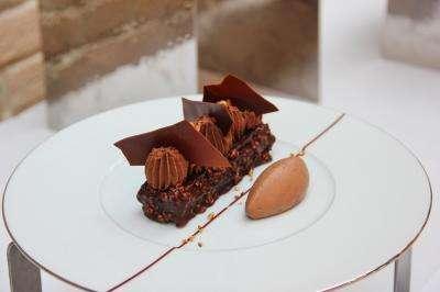 Feuille à feuille chocolat Jivara - Gusté MAISON