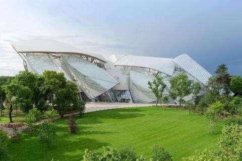 Louis Vuitton Foundation and the Jardin d'Acclimatation; let's go!