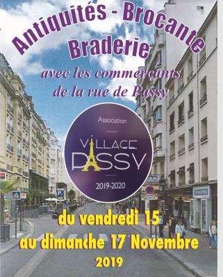 Flea Market and Clearance sale in Passy Street
