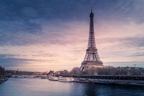 The Eiffel Tower; our world-famous iron lady