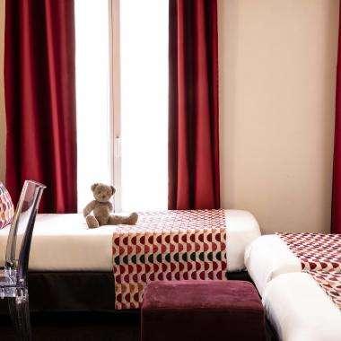Grand Hotel Leveque - Chambre triple