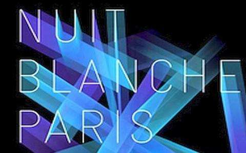 Nuit Blanche in Paris on Oct 5th