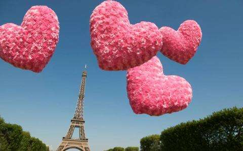 La Saint Valentin A Paris